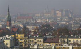 Smog powrócił! Pierwszy atak na centrum i Bronowice