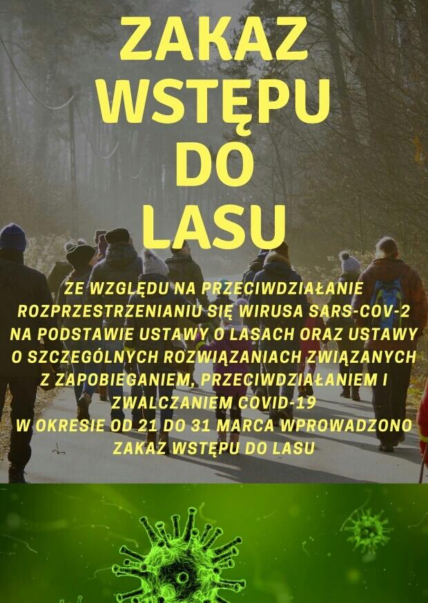 Zakaz - Nadleśnictwo Krzeszowice