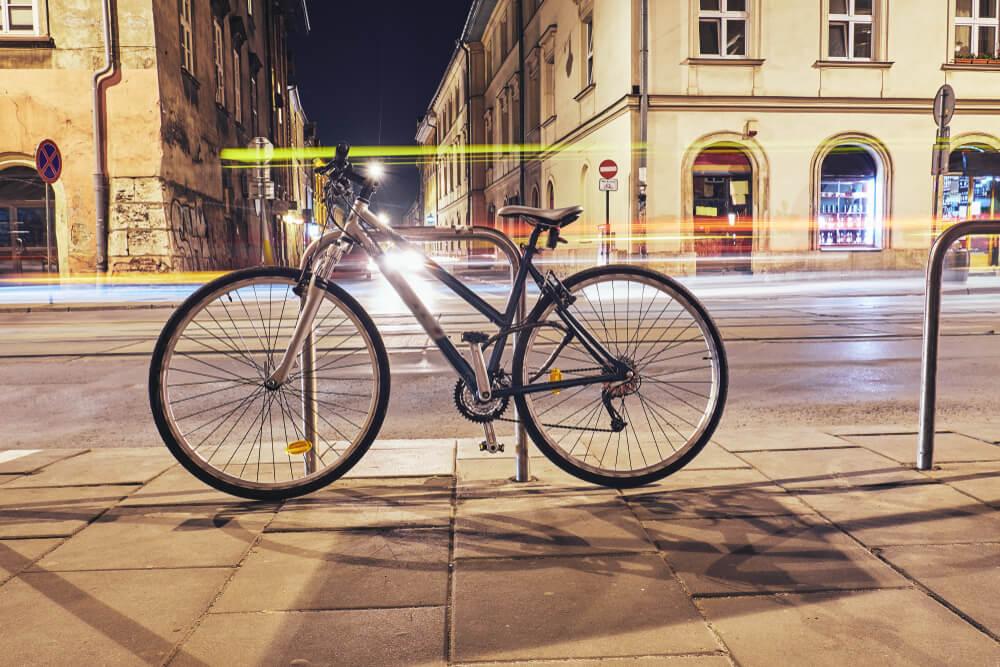 Na rower nie ma złej pogody, czyli o zimowej jeździe po Krakowie